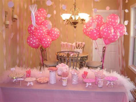 Decorating Ideas Dessert Table For My Baby Girls St