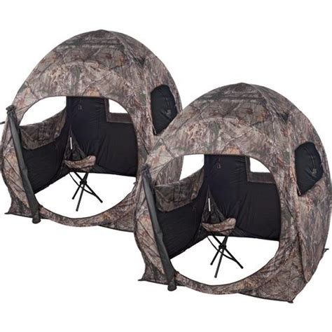 ameristep trouble ground blinds 2 pack academy