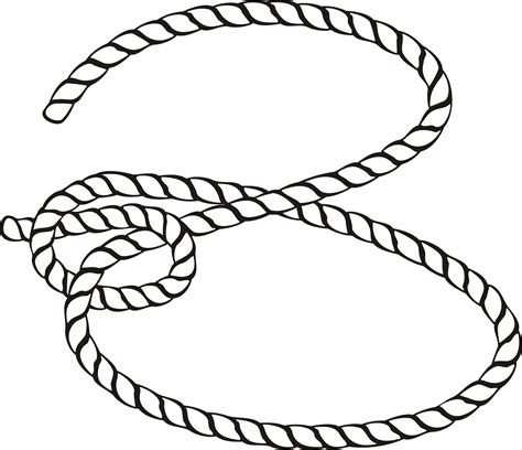 rope knot coloring page sketch coloring page