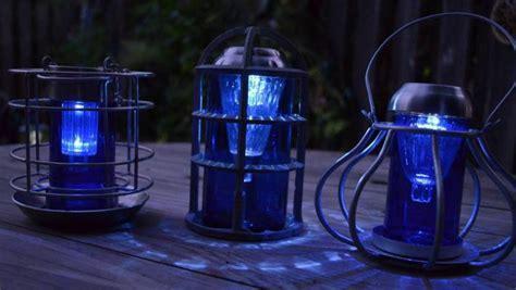 sensational recycled solar lights in the garden flea