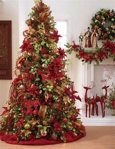 Christmas tree decorations 2014 red and gold 2015-2016 ...
