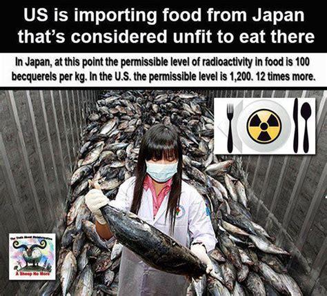nutrition  japan export food   unsafe  eat