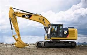 cat excavators new cat 323f l excavator presented dredging today