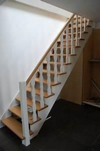 Escalier Bois Blanc : escalier en bois escaliers decoration escalier peinture escalier et peindre escalier bois ~ Melissatoandfro.com Idées de Décoration