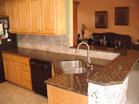 white kitchen countertops with brown cabinets modern kitchen with brown granite countertops saura v 2096