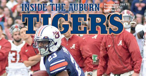 gifts for auburn fans inside the auburn tigers magazine and football newseltter