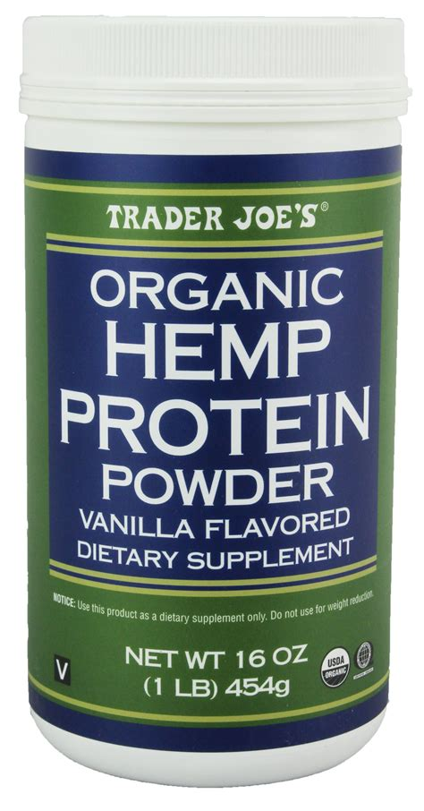 Amazon.com: Trader Joe's 16 Oz. Organic Hemp Protein