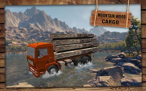 Mountain Wood Cargo Trucker 3d  Truck Games 2018 Apk