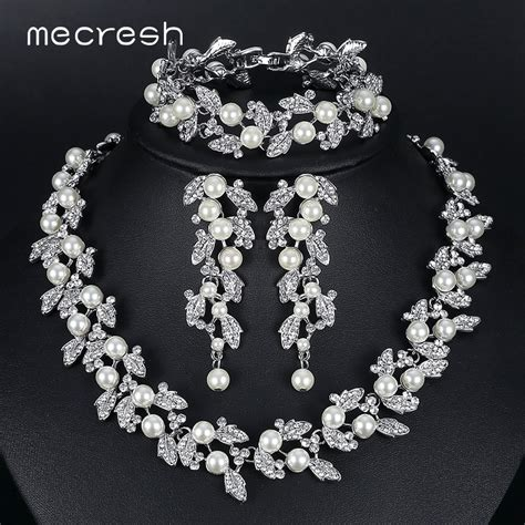 buy mecresh simulated pearl bridal