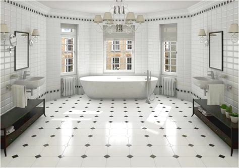 Black And White Tiled Bathroom Ideas Color And Patterns Tile Bathroom Black And White Tile Designs Bathrooms Advice For Your Home