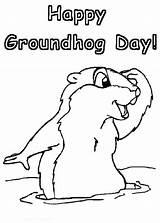 Groundhog Coloring Printable Sheets Animal Malvorlagen Gladiator Chakiradecor sketch template