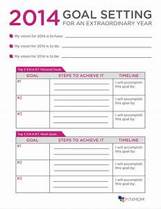 goal setting for 2016 template calendar template 2016 With objective setting template