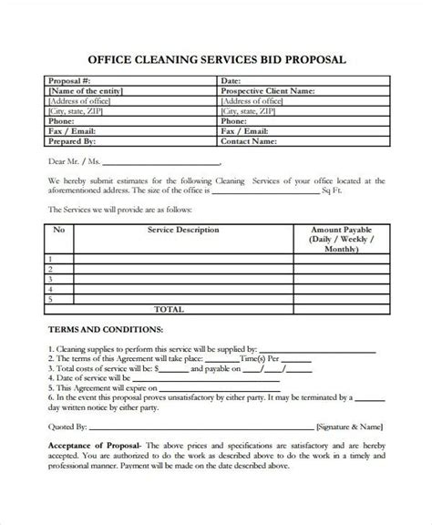 service proposal template   word  document