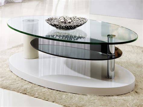 Oval glass coffee table oak. Oval Coffee Table Design Images Photos Pictures