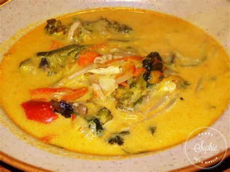 lait de coco cuisine soupe de poulet au lait de coco thaï la tendresse en