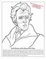 Coloring Democratic Democrat Activity Change History Coloringbook Wholesale sketch template