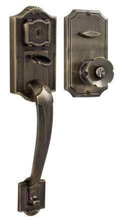 front door handleset weslock colonial 1400 handleset