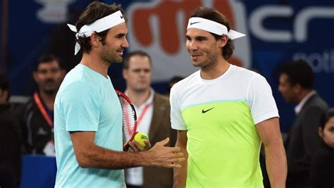 Nadal has a far superior head-to-head record but Federer has more Grand Slams | Daily Mail Online