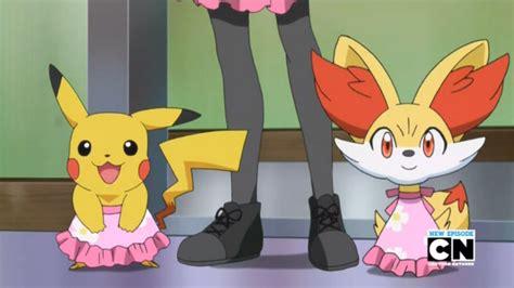 pikachu cross dressing   anime pokemon