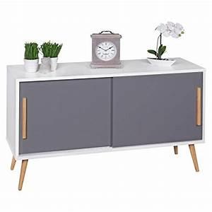 Kissen Skandinavisches Design : finebuy sideboard mit schiebet ren skandinavisches design ~ Michelbontemps.com Haus und Dekorationen