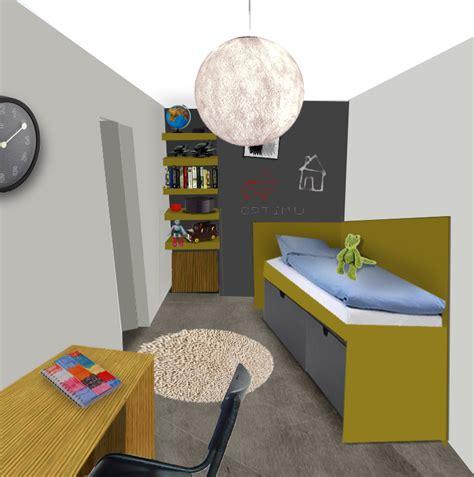idee chambre garcon inspiration idée déco chambre garçon gris et