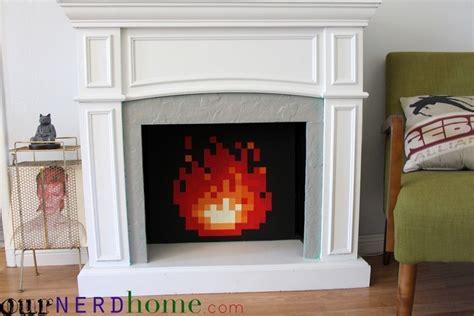 bit fireplace insert    wall decor home