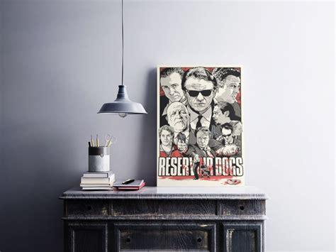 Rezervuar Köpekleri - Metal Poster - Duvar & İllüstrasyon ...