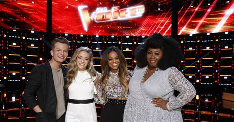 With five artists left in the competition, each of the four coaches has at least one singer remaining on their teams (blake shelton has two). 'The Voice' Finale Live Blog! Who Is the Season 14 Winner? | ExtraTV.com
