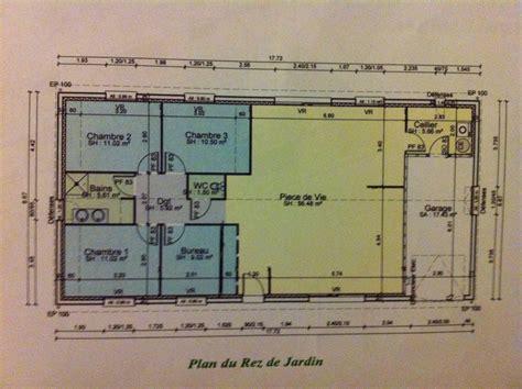 plan des bureaux plan maison plain pied 3 chambres 1 bureau gallery of