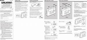 Sony Wm Fx221 Users Manual