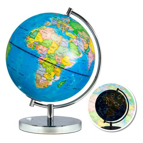 Best Choice Products Kids 2-IN-1 World Globe with LED ...