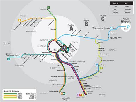 denver light rail schedule 21 unique denver transportation map bnhspine
