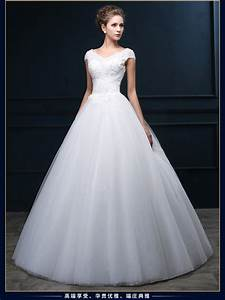 fast shipping vintage wedding dress with short sleeve 2015 With fast shipping wedding dresses