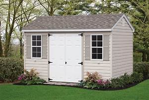 Nane more vinyl outdoor shed for Backyard products sheds