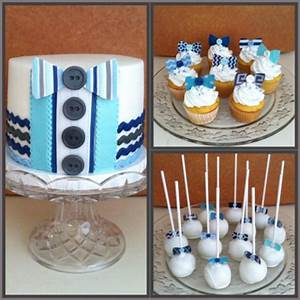 Little Man Bow Tie Baby Shower - CakeCentral com