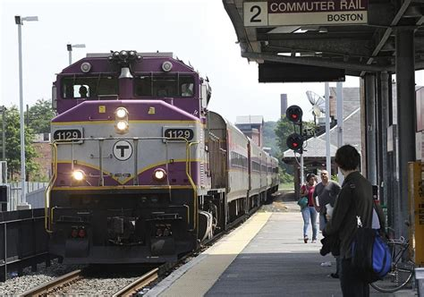 Mbta Commuter Boat Schedule Quincy by Ticket Checks Coming Soon To Back Bay Commuter Rail The