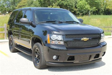 unique ls for sale purchase used unique 2011 chevrolet tahoe ls w police