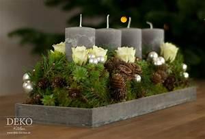 Adventskranz Länglich Selber Machen : weihnachtsdeko basteln adventskranz im naturlook deko kitchen ~ Eleganceandgraceweddings.com Haus und Dekorationen
