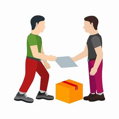 Receiving Icon Package Shipping Box Receive Delivery