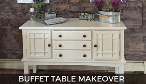 Buffet Table Makeover ( How To!)