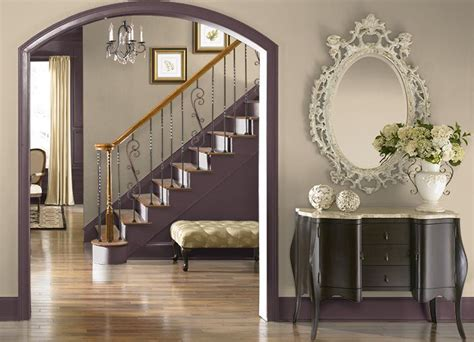 this is the project i created behr com i used these colors deep aubergine 100f 7 leapfrog