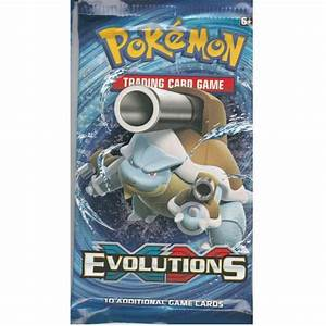 Pokemon Sealed Booster Pack (10 Cards) - XY Evolutions