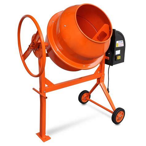 vidaxl co uk concrete mixer cement mixer 140 l 650 w steel orange