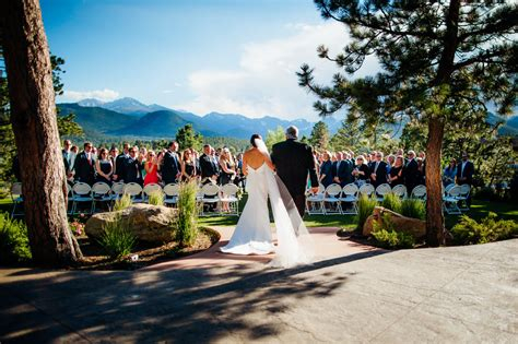 Estes Park Wedding Venues Colorado The Stanley Hotel