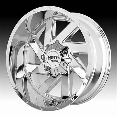 Moto Chrome Metal Wheels Melee Mo988 Custom