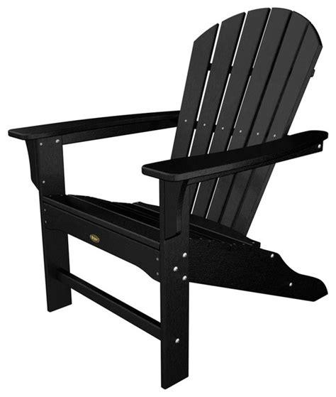 trex outdoor furniture cape cod charcoal black plastic