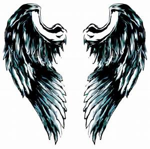 Simple Angel Wing Tattoos - ClipArt Best