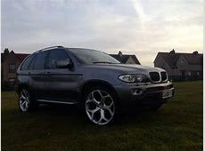 Grey BMW X5 30 diesel excellent condition 22 inch wheels