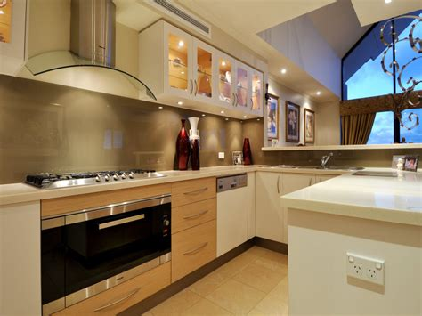 kitchen design u shape modern u shaped kitchen design using tiles kitchen photo 4598