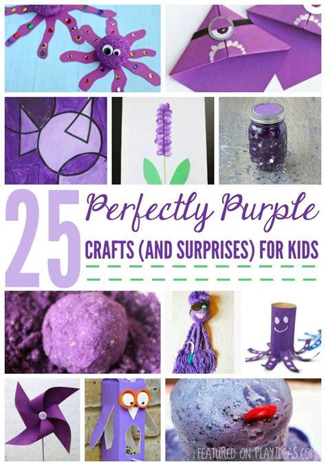 perfectly purple crafts    surprises  kids